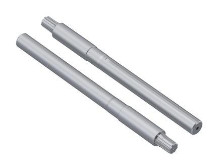Полуоси задние удлиненные Т18-Т25 (L=649 мм D=49 мм), пара