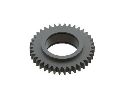 Шестерня вала №1 Z=38 (под подшипник) редуктора подъемного навесного оборудования