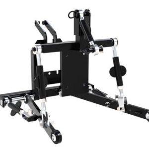 Сцепное устройство трехточечное к одноточечному подвесу минитрактора СКАУТ